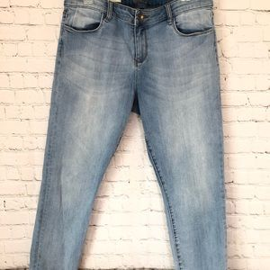 Kut from the Kloth Brigitte Crop Skinny Jeans
